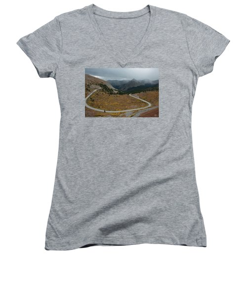 Cottonwood Pass #2 Women's V-Neck T-Shirt