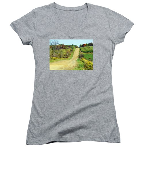 Country Days Women's V-Neck T-Shirt