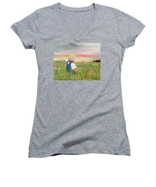 Country Dreams Women's V-Neck