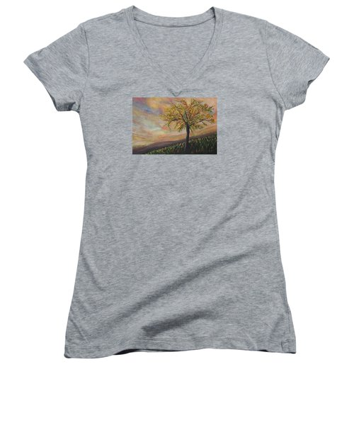 Country Morn Women's V-Neck