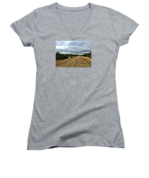County Road Women's V-Neck (Athletic Fit)