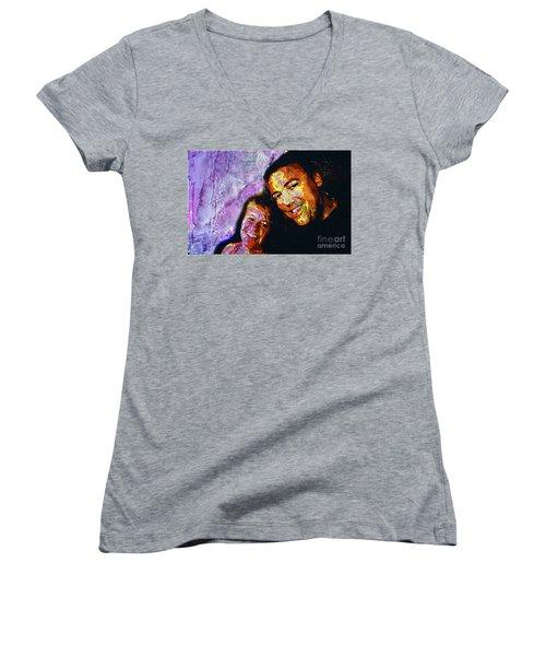 Couple Women's V-Neck T-Shirt
