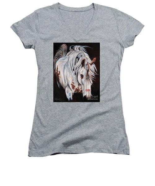 Courage Women's V-Neck T-Shirt