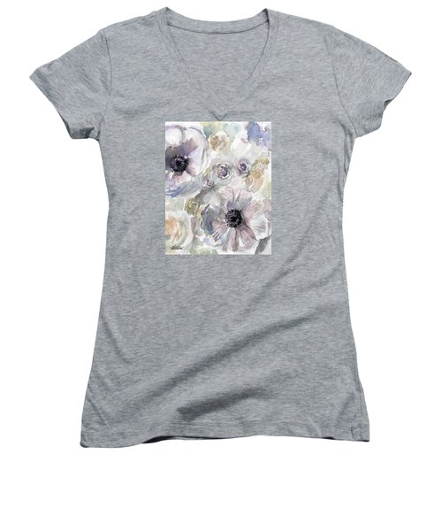 Courtney 1 Women's V-Neck T-Shirt (Junior Cut)