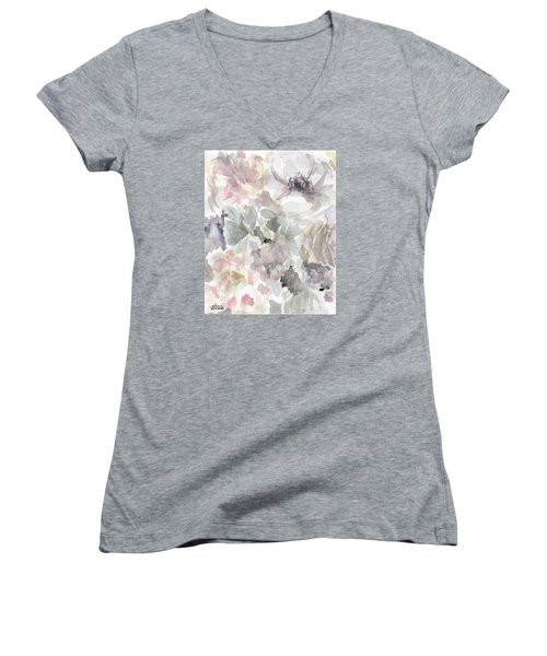 Courtney 2 Women's V-Neck T-Shirt (Junior Cut)