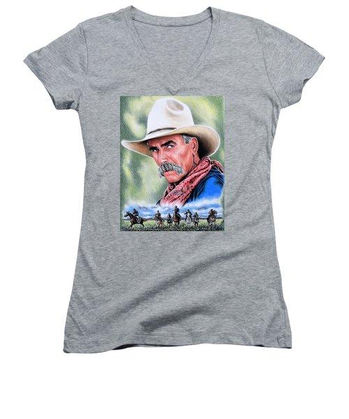 Cowboy Women's V-Neck T-Shirt