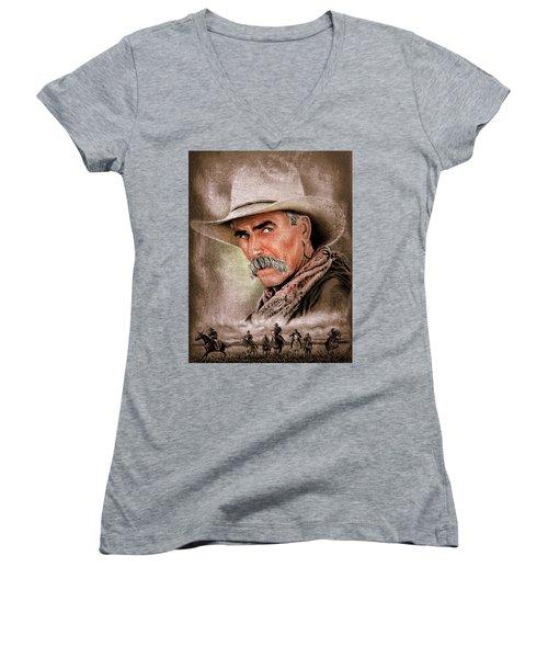 Cowboy Version 3 Women's V-Neck (Athletic Fit)