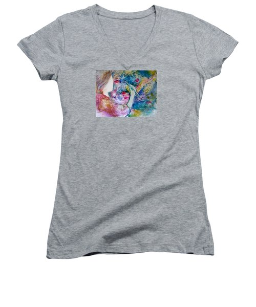 Created To Create Women's V-Neck T-Shirt