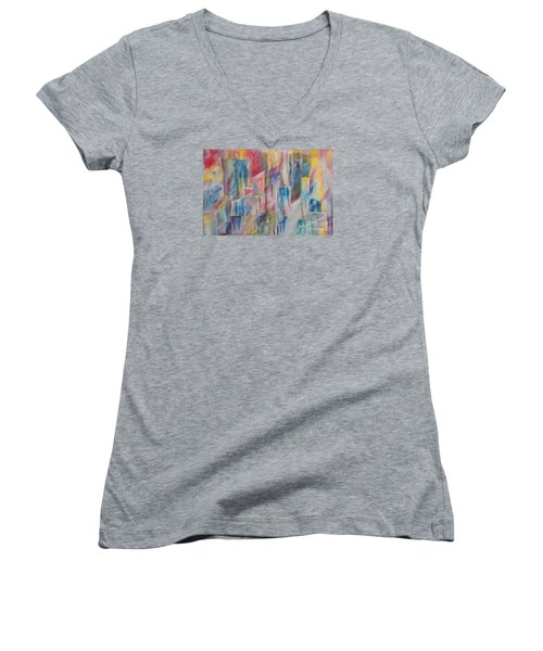 Creative Utopia Women's V-Neck T-Shirt