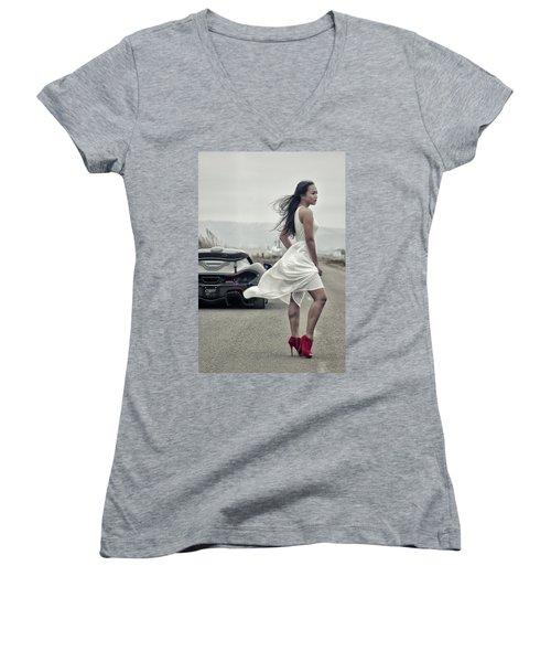 #cresta #p1 #print Women's V-Neck