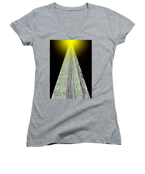 Cross That Bridge Women's V-Neck T-Shirt