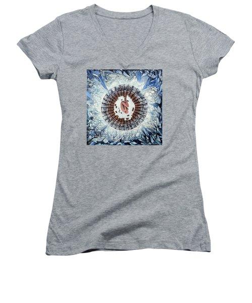 Cryo  Women's V-Neck T-Shirt