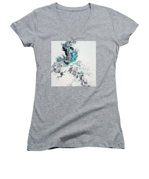 Crystals Of Ice Women's V-Neck