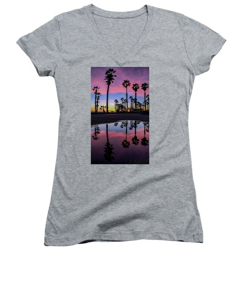 Curb Appeal Women's V-Neck (Athletic Fit)