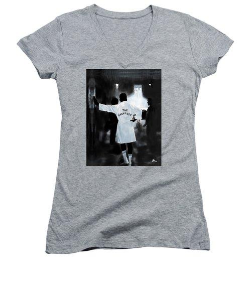 Curtain Call Women's V-Neck T-Shirt