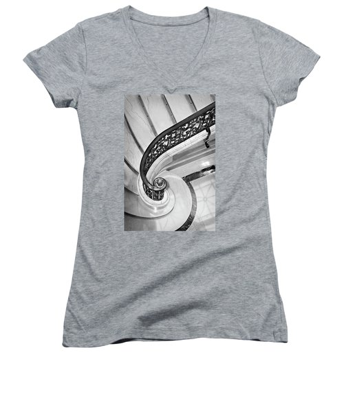 Curves And Light Women's V-Neck