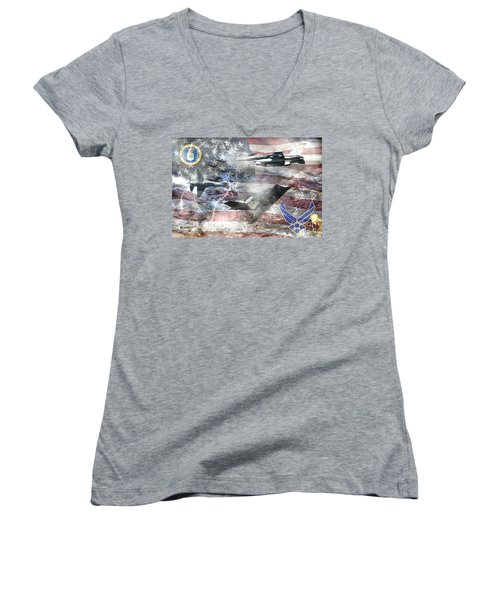 Cutting Edge Women's V-Neck (Athletic Fit)