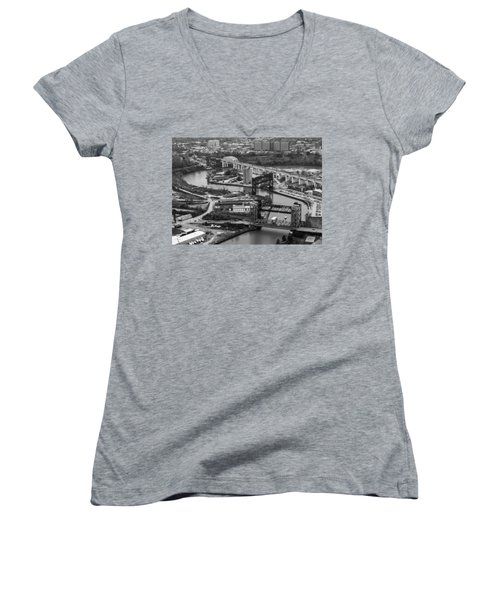 Cuyahoga River Women's V-Neck