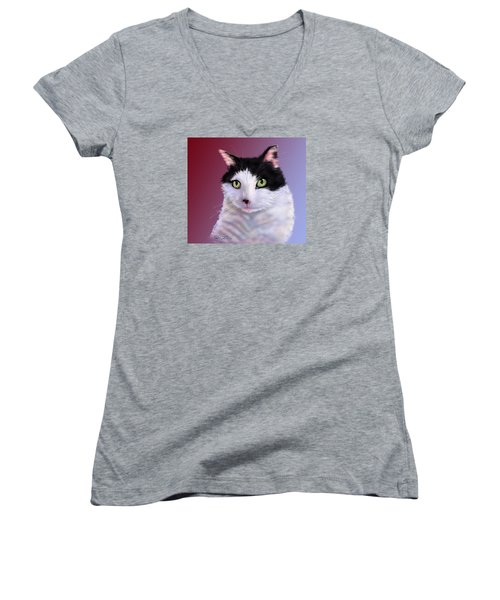 Cyndie's Bob Women's V-Neck T-Shirt
