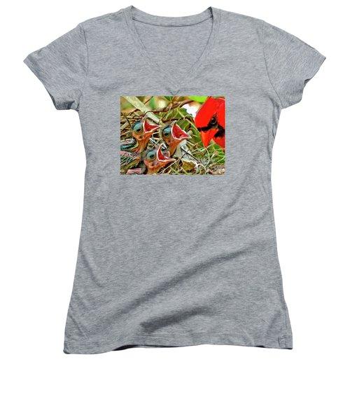 Dad Women's V-Neck T-Shirt
