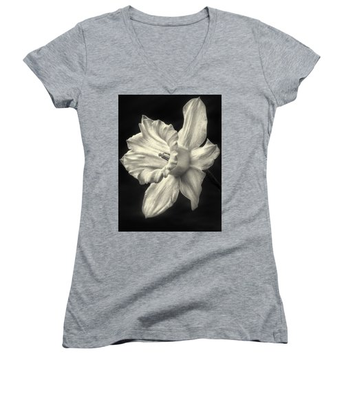 Daffodil Glow Women's V-Neck T-Shirt