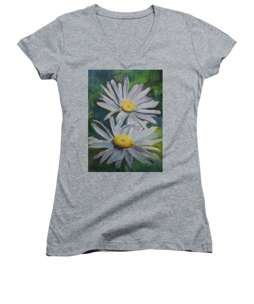 Daisies Women's V-Neck
