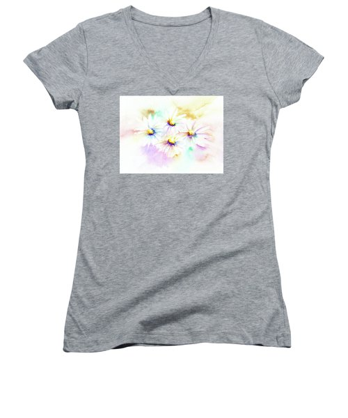 Daisy Women's V-Neck T-Shirt