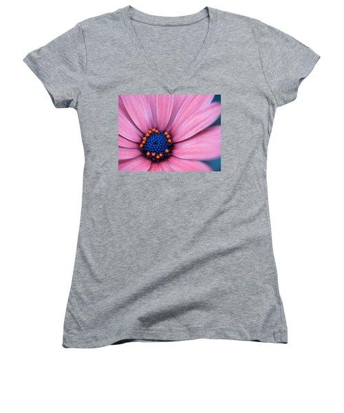 Daisy Women's V-Neck T-Shirt (Junior Cut) by Rachel Mirror