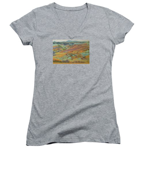 Dakota October Women's V-Neck