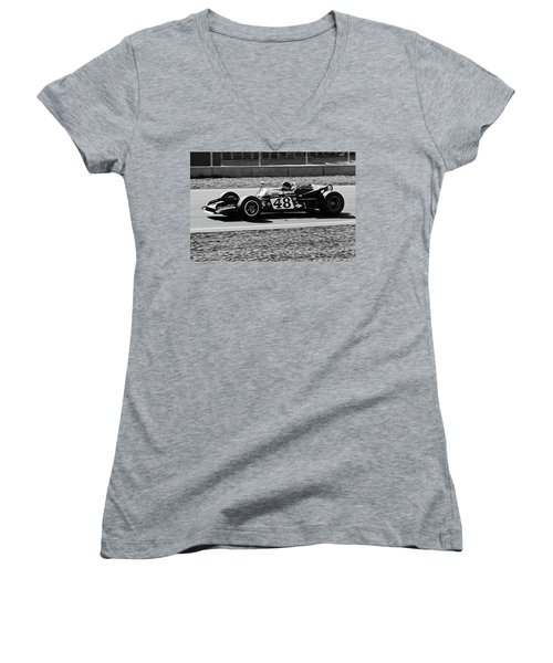 Dan Gurney For The Win Women's V-Neck