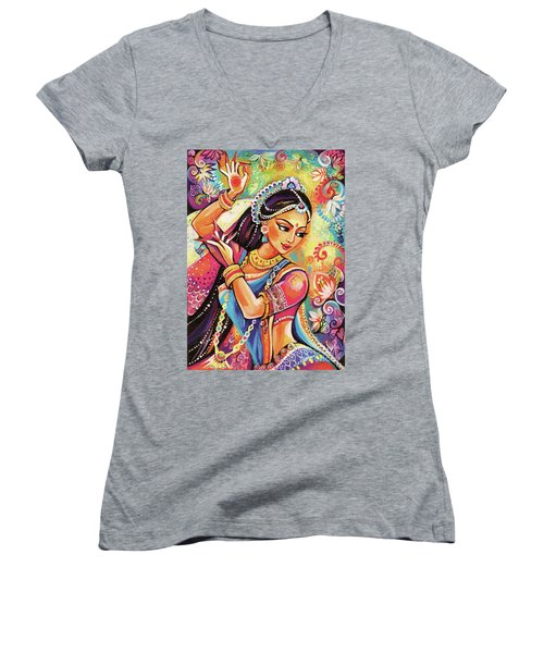 Dancing Of The Phoenix Women's V-Neck (Athletic Fit)