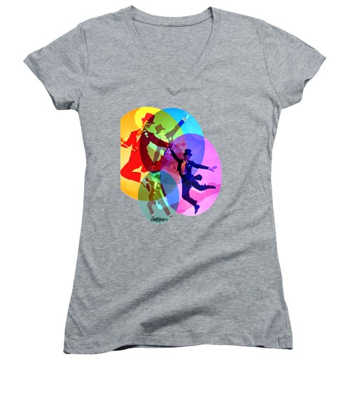 Dancing On Air Women's V-Neck (Athletic Fit)