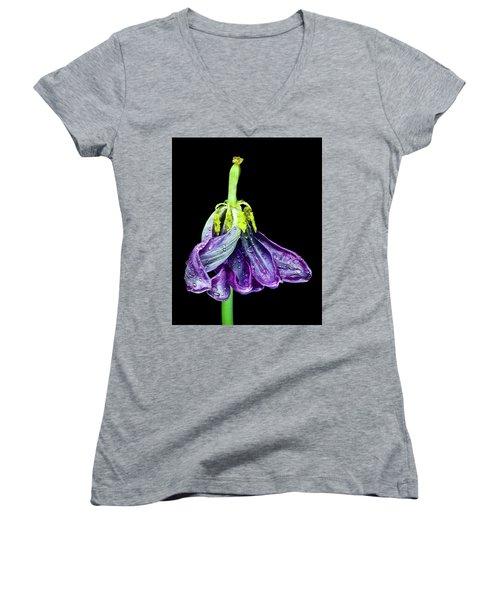 Dancing Tulip 2 Women's V-Neck
