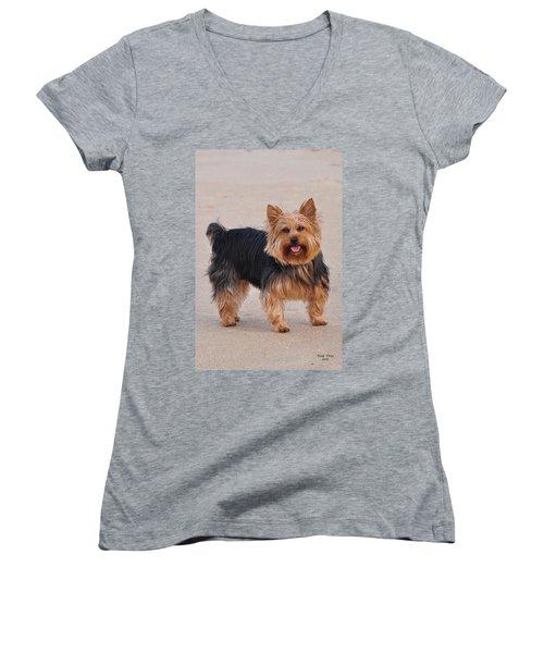 Dapper Dog Women's V-Neck