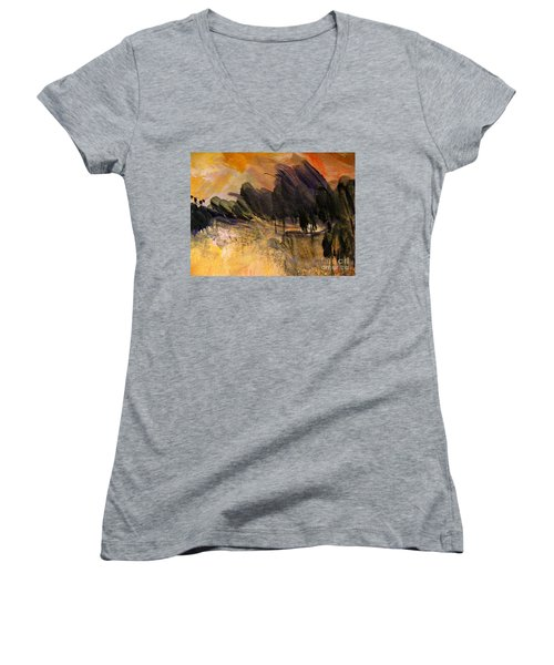 Dark Forest Women's V-Neck T-Shirt