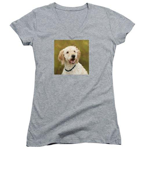 Dasha Women's V-Neck T-Shirt