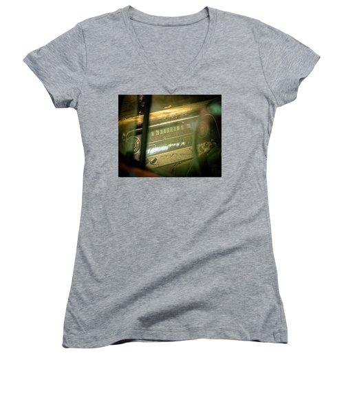 Dashboard Glow Women's V-Neck T-Shirt
