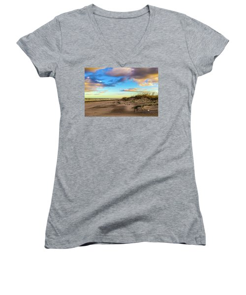 Dawn Is A Feeling Women's V-Neck (Athletic Fit)