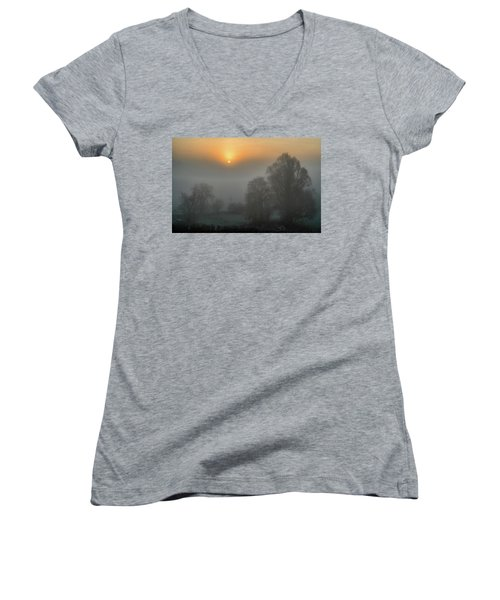 Day Break  Women's V-Neck T-Shirt