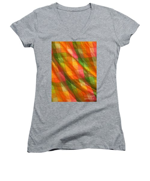 Women's V-Neck T-Shirt featuring the photograph Day Dreaming by Marie Neder