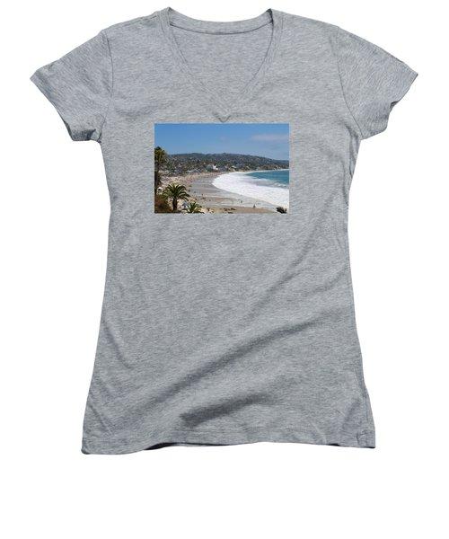 Day On The Beach Women's V-Neck