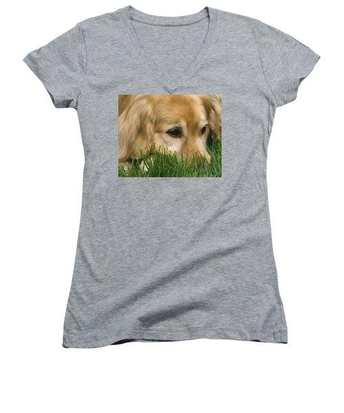 Daydreaming Women's V-Neck T-Shirt