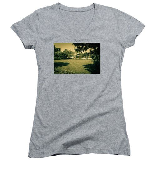 Days Bygone - The Hermitage Women's V-Neck