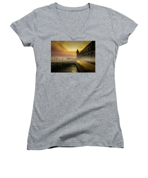 Days End Women's V-Neck (Athletic Fit)