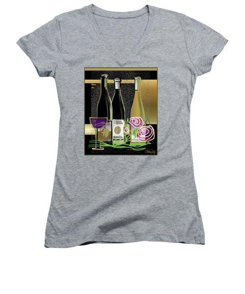 Days Of Wine And Roses Women's V-Neck