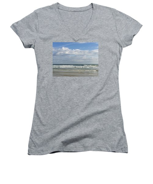 Daytona Beach 3 Women's V-Neck (Athletic Fit)