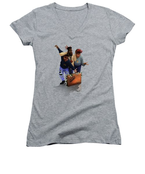 De La Soul Women's V-Neck T-Shirt