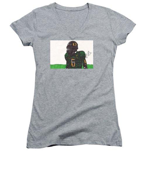 De'anthony Thomas 2 Women's V-Neck T-Shirt