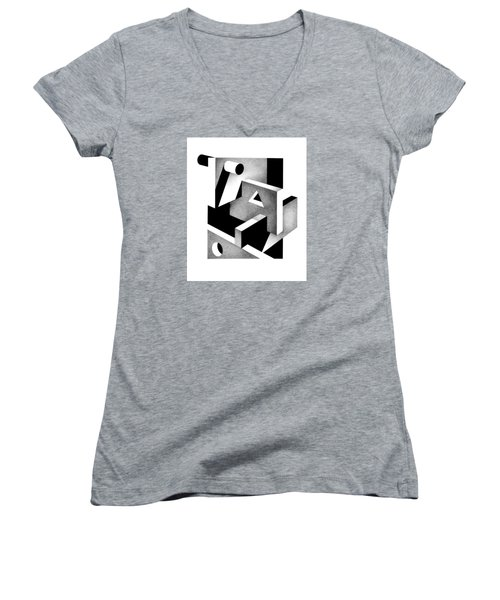 Decline And Fall 19 Women's V-Neck T-Shirt