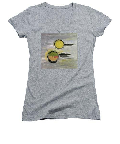 Deconstruction Women's V-Neck T-Shirt